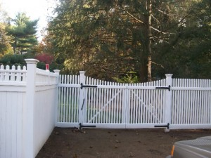 fence gate installation