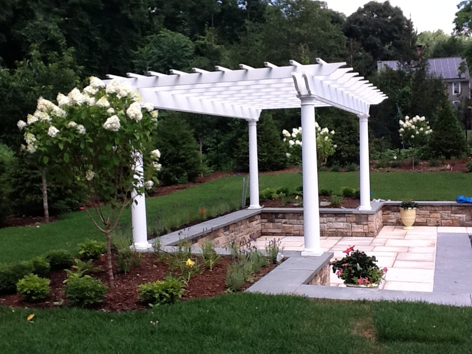 A pergola installed in Fairfield