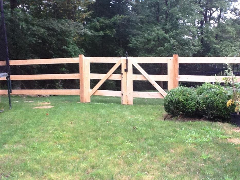 Post and Rail Fences 10