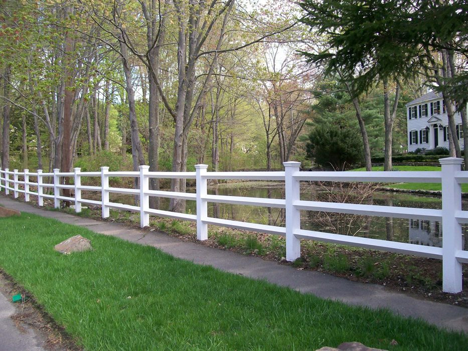 Fence installation by A. Anastasio Fence Company